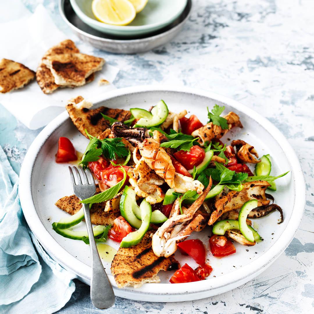 CH4622_Easter Recipes_BBQ calamari salad
